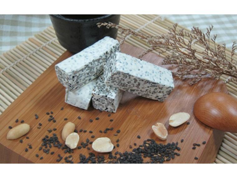 [埕憶菓子工坊] 法式牛軋糖-團圓禮盒:C4款芝麻 20入 (奶蛋素)  1盒 (售完)