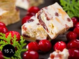 [2021年過年年節禮盒推薦]法式雪雲千層派-團圓禮盒:A5款小紅莓 15入 (奶蛋素) 1盒